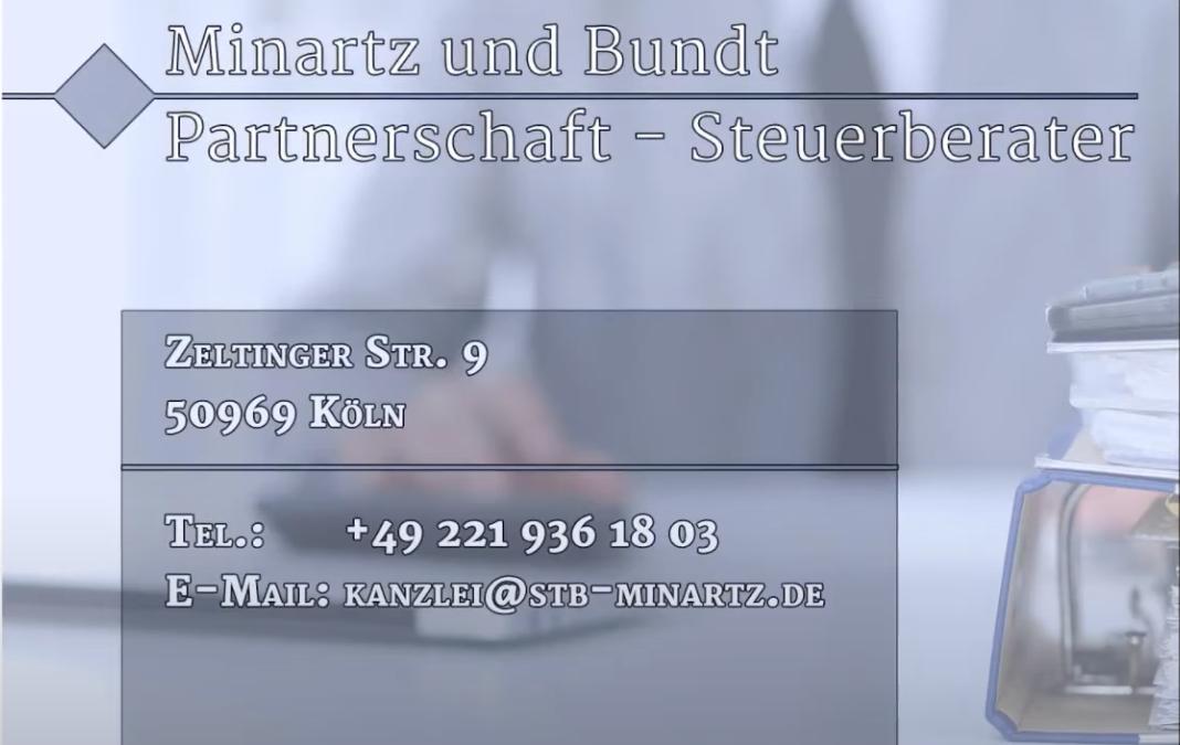 Minartz und Bundt Partnerschaft – Steuerberater