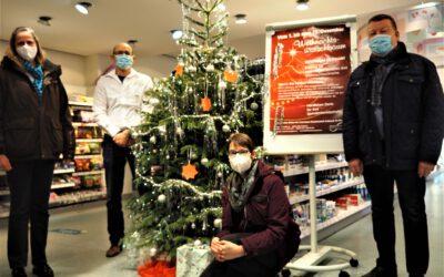 Pressetermin Kölner Wochenspiegel bei dm zur Wunschbaumaktion